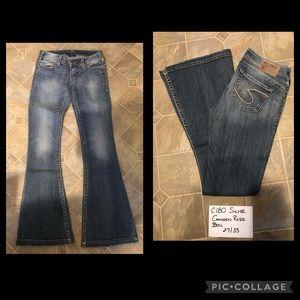 Silver Camden rose bell Jeans